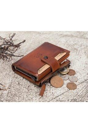 Bouletta Deri Kartlık-cüzdan Rfıd Rst2ef Taba