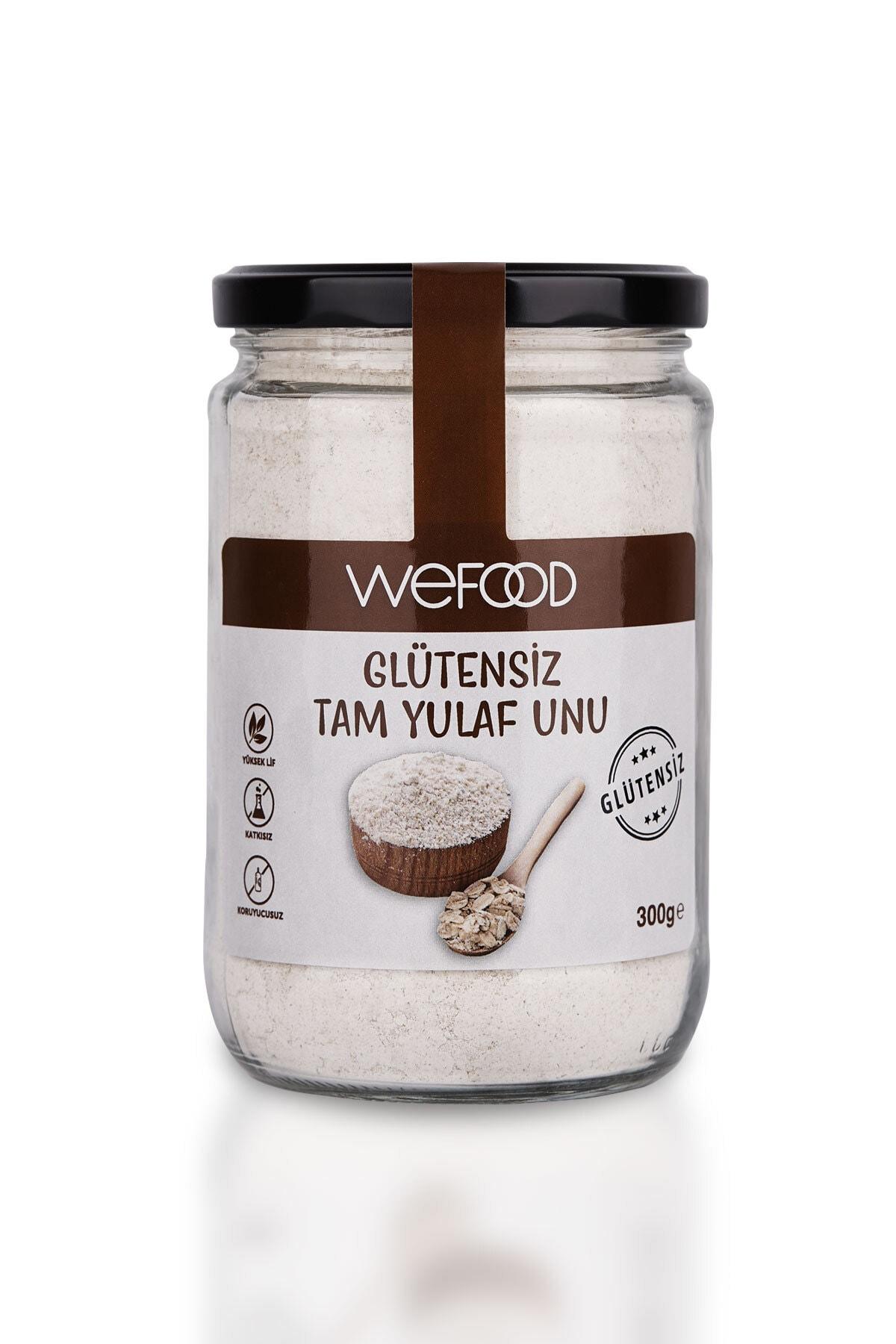 Wefood Glutensiz Tam Yulaf Unu 300 gr 1