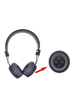 Gigi Mikrofonlu Kulak Üstü Extra Bass Siyah Kablosuz Bluetooth Kulaklık