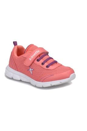 Kinetix Kız Çocuk Mercan Mor Comfort Cırtlı Yazlık Spor Ayakkabı