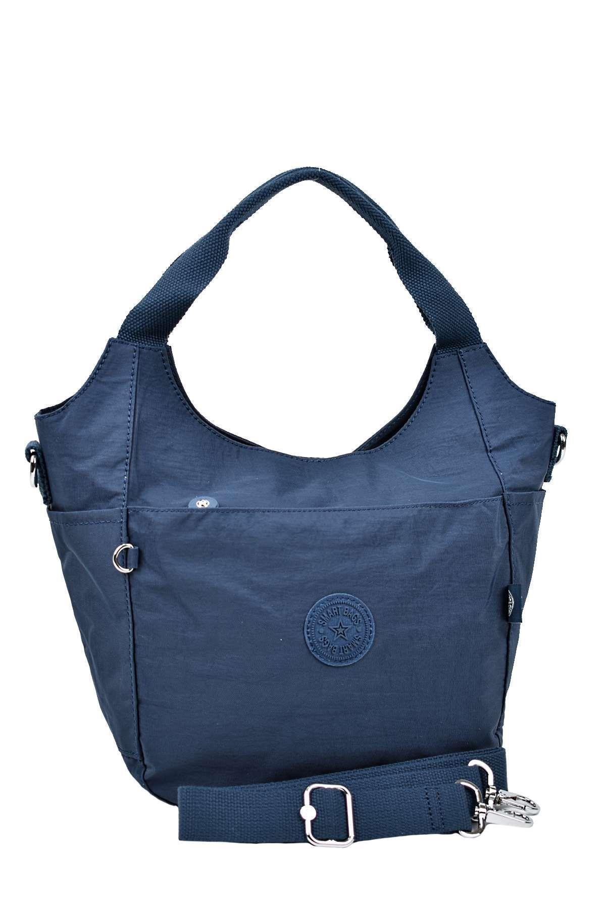 SMART BAGS Omuz Ve El Çantası Lacivert 3079 2