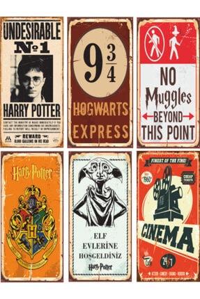 Hayat Poster Harry Potter Poster Seti 6 Poster Birden