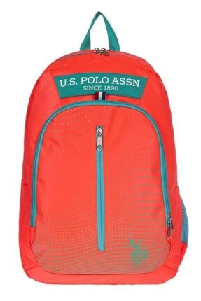 U.S. Polo Assn. Unisex Turuncu Sırt Çantası Plçan20050