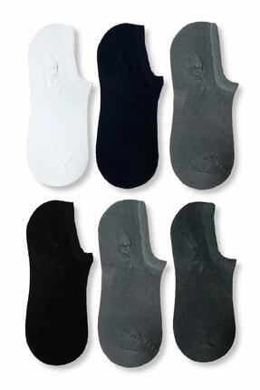 Carrier Plus Erkek Karışık Renk Bambu Görünmez (sneaker) Spor Ayakkabı Çorabı