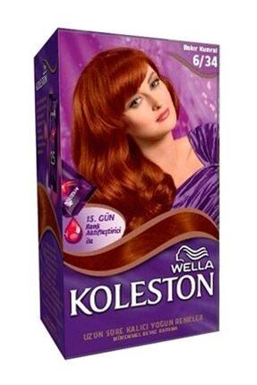 Koleston Set Saç Boya 6.34 Bakır Kumral