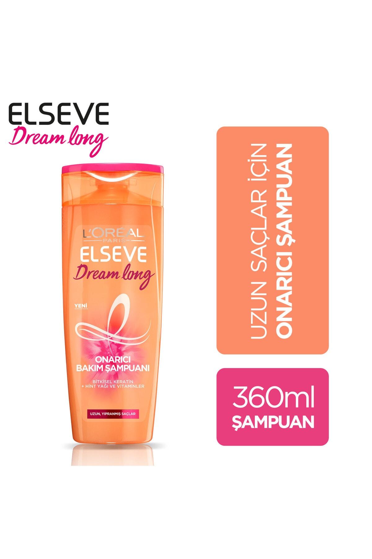 ELSEVE Dream Long Onarıcı Bakım Şampuanı 360 ml 1