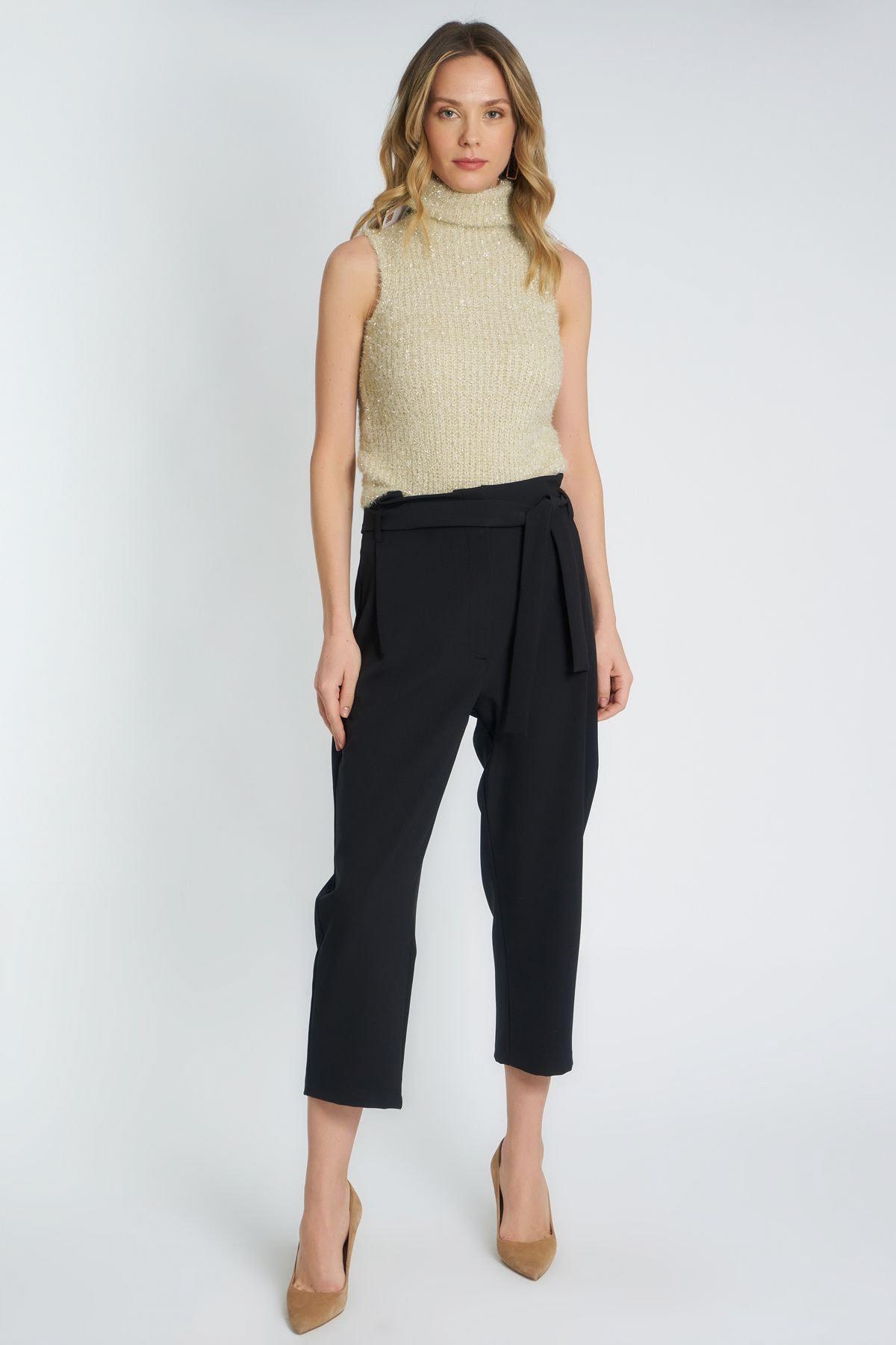 HomeStore Kadın Sıyah Pantolon 19630002062 1