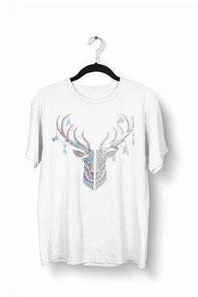 Tshigo Dark Magic Deer Baskılı Erkek T-Shirt - 2019TS180
