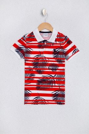 U.S. Polo Assn. Kirmizi Erkek Çocuk T-Shirt