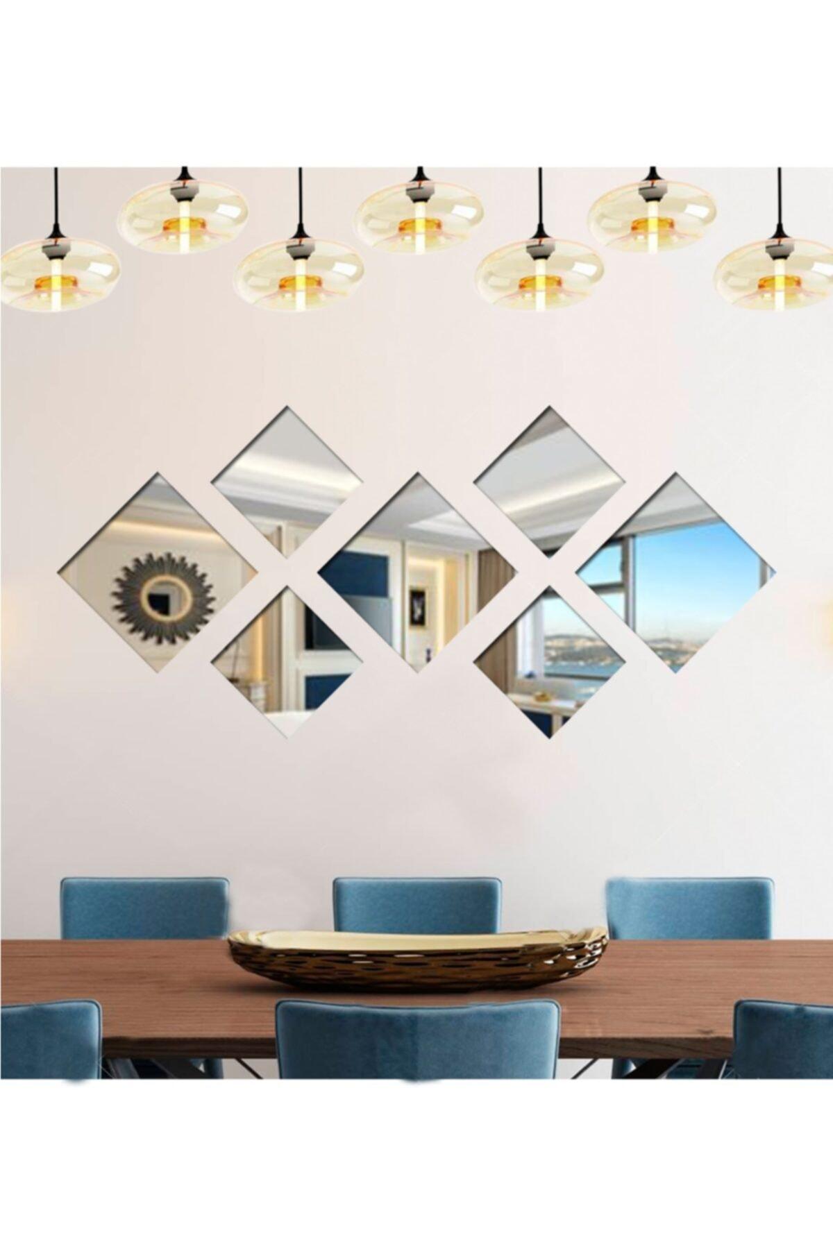LYN HOME & DECOR Kare 7 Parçalı Ayna 1