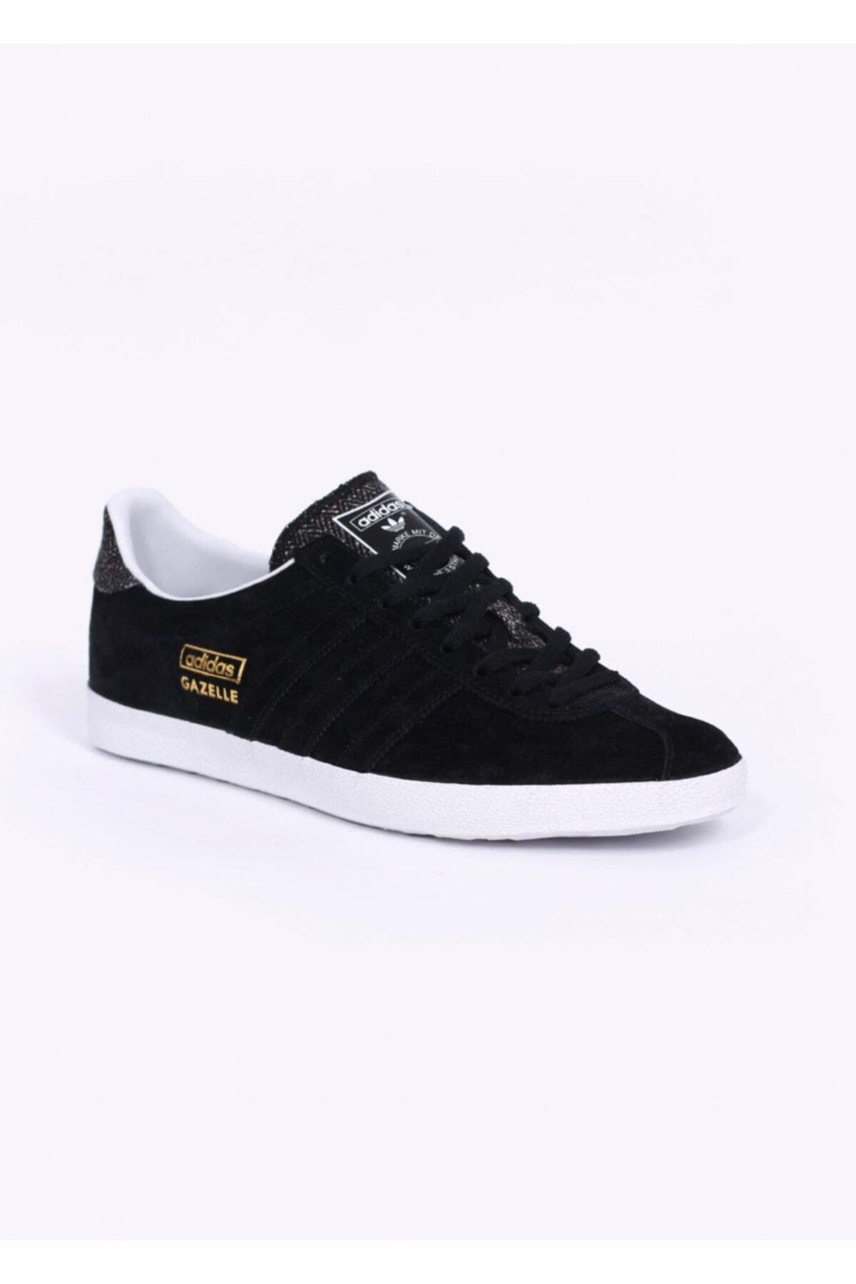 adidas Erkek Siyah Originals Gazelle Og Sneakers B35199 1