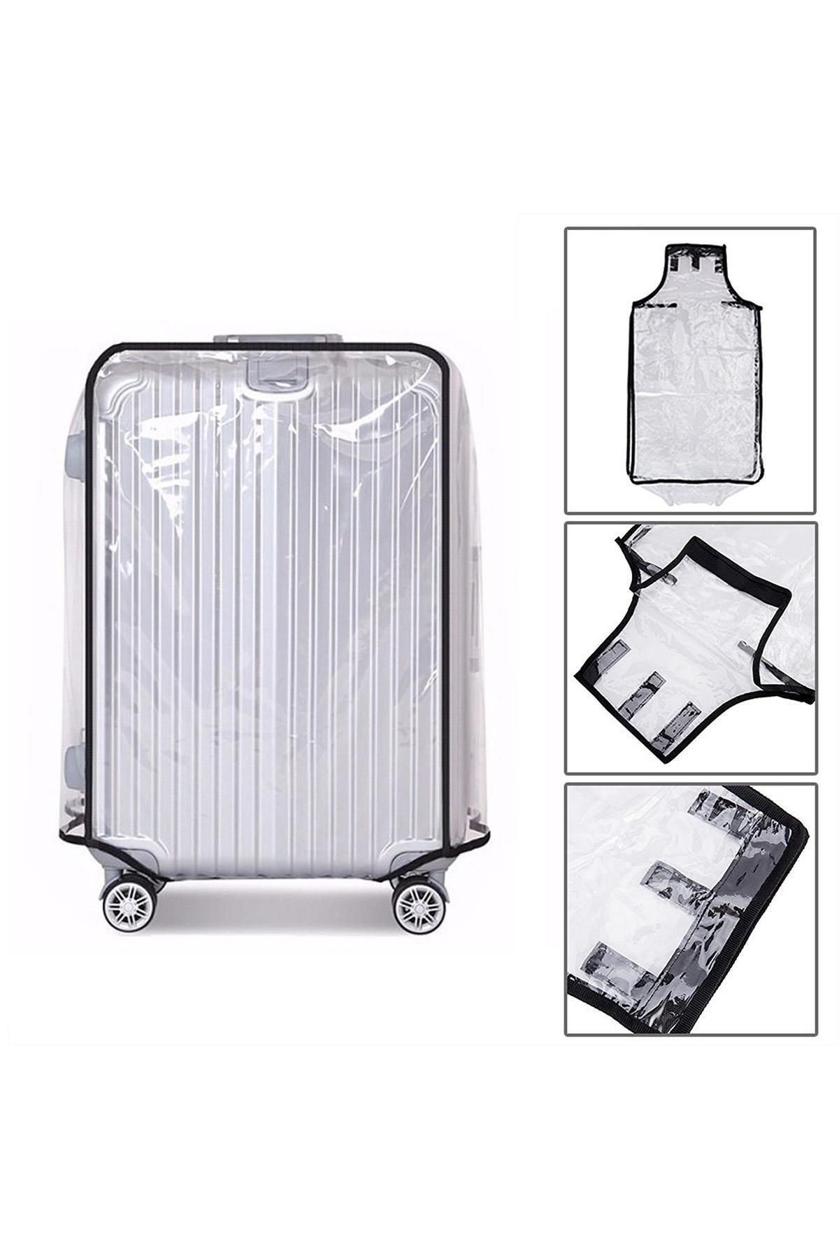Mybag My Bag My13339-m Şeffaf Unısex Valiz Kılıfı Orta Boylar Için