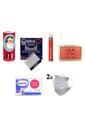 ARKO Tıraş Ürünleri Seti (cilt Şapı, Kan Taşı Ve Kalemi, Sabun)
