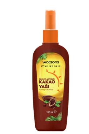 Watsons Bronzlaştırıcı Kakao Yağı 150 Ml