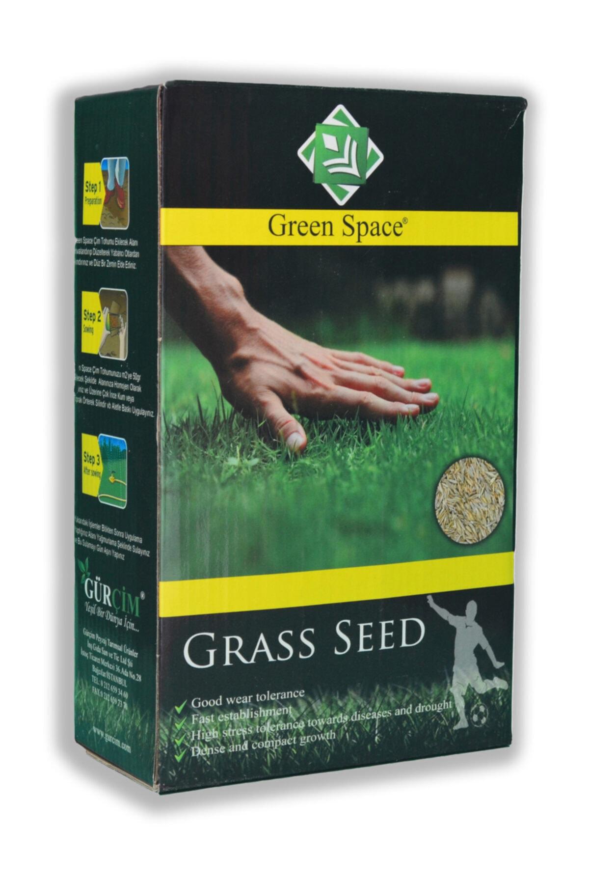 greenspace Ithal Green Space Çim Tohumu Kuraklığa Ve Sıcağa Dayanıklı Mix 1 Kg 1