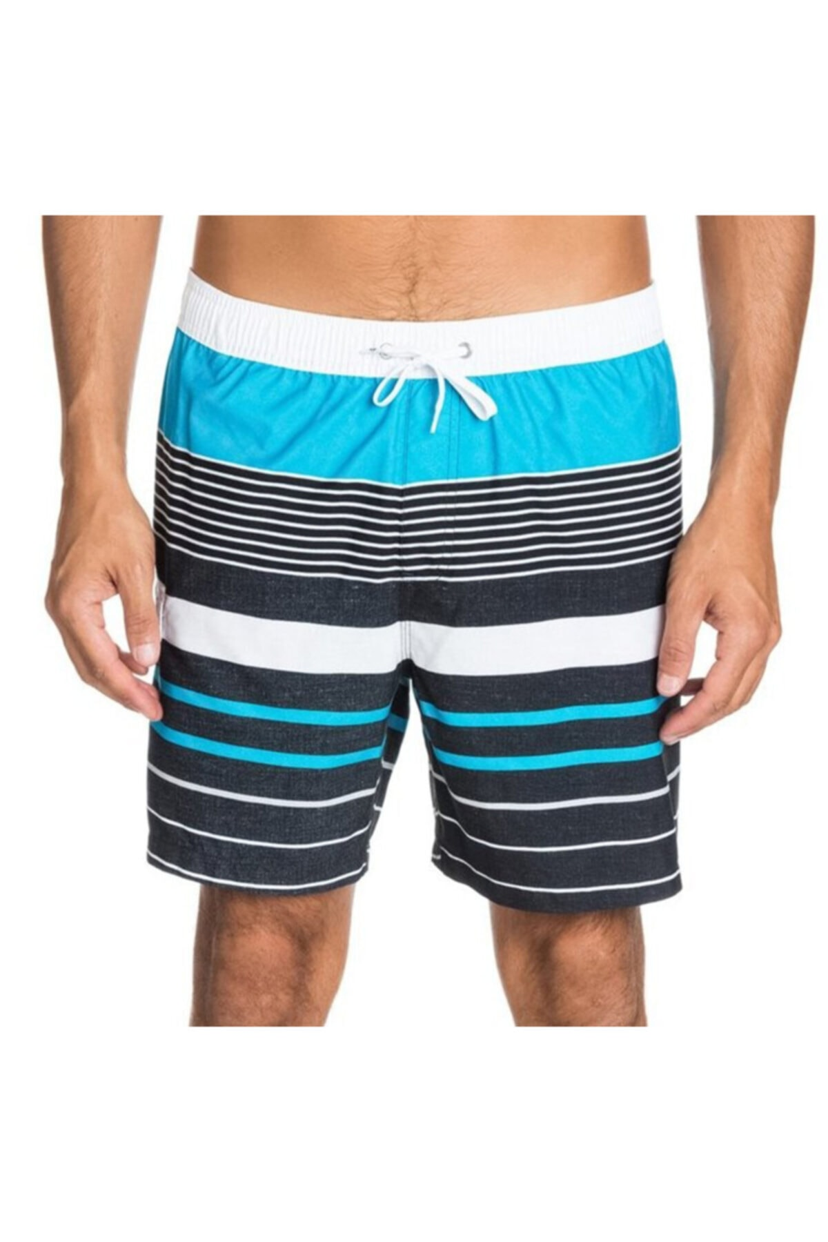 Quiksilver Boardshort Yg Stripe Volley Mid Length 1