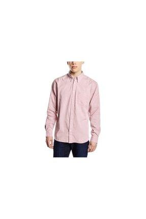 WRANGLER Erkek Pembe Button Down Gömlek
