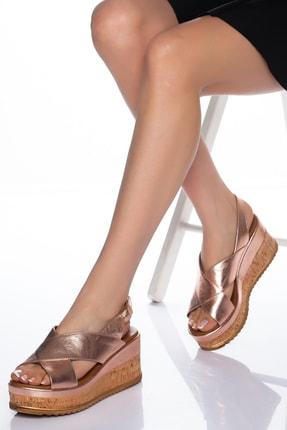 Zeus Sandals Hakiki Deri Mantar Tabanlı Sandalet Derisandalet
