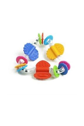 BONDİGO Eğlenceli Üçgen Diş Kaşıyıcı Bebek Oyuncak