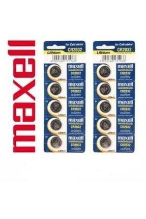 Maxell Cr-2032 3v Şeker Ölçüm Cihazı Pili , Baskül Tartı Pili , Bios Pili , Anakart Pili 5 Li