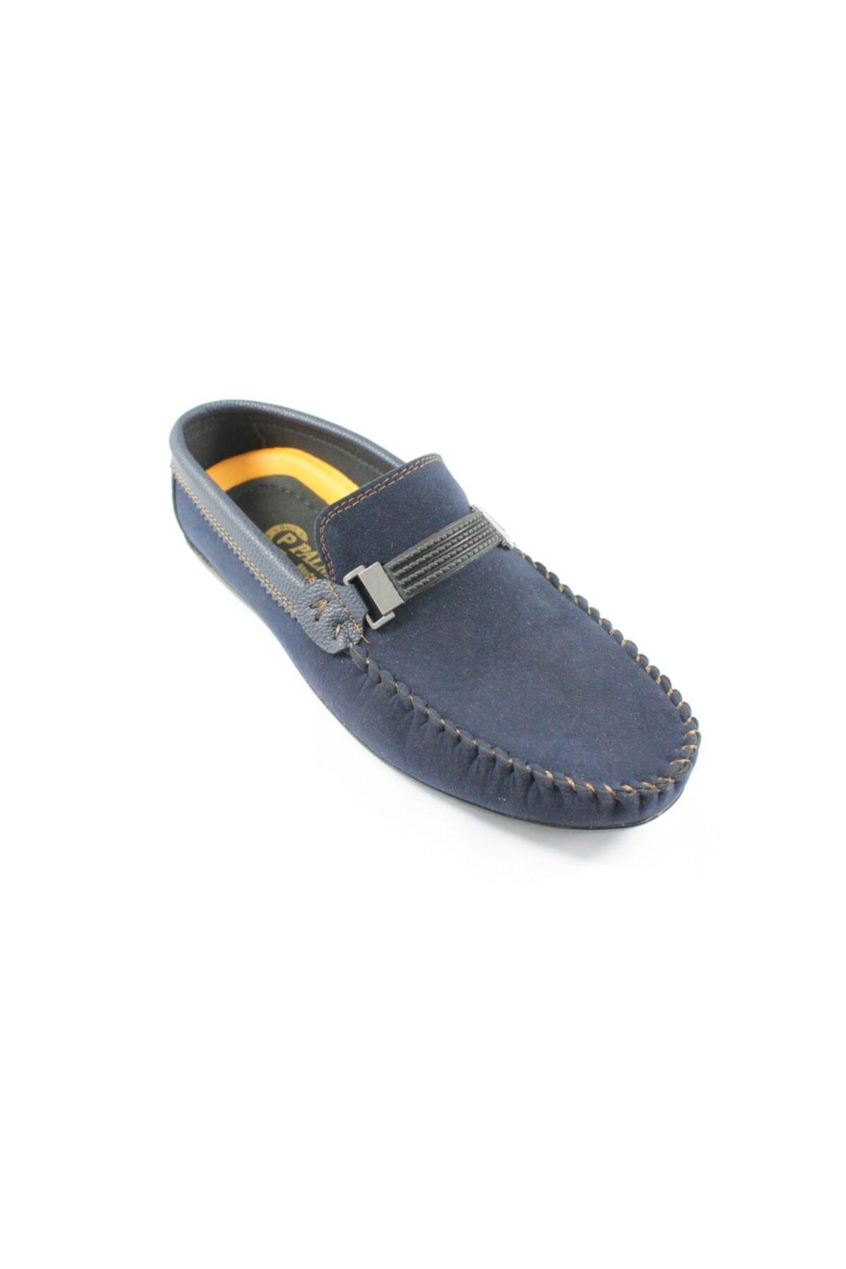 Palmera Erkek Lacivert Süet Ayakkabı 1