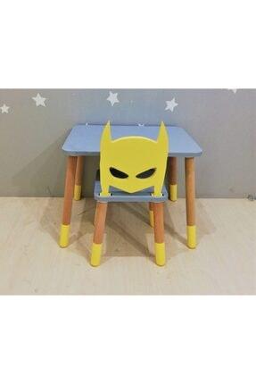 FISHER PRICE Anne Ve Tasarım Batman Masa Sandalye Takımı