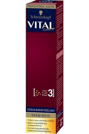 Vital Vıtal Tüp Saç Boyası 6-68 Bronz Kahve