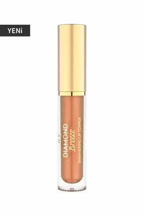 Golden Rose Dudak Parlatıcısı - Diamond Breeze Shimmering Lip Topper 03 Nude Sparkle 8691190965617