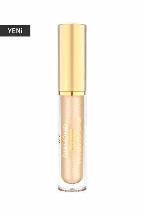 Golden Rose Dudak Parlatıcısı - Diamond Breeze Shimmering Lip Topper 02 Golden Nude 8691190965600