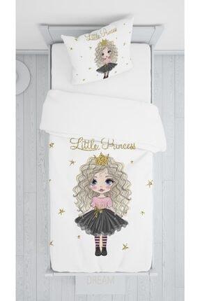 halımarkt Sevimli Little Princes Kız Yatak Örütüsü Takımı Hm-b6