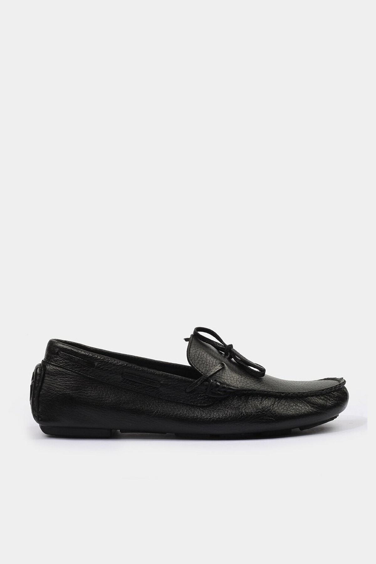 Hotiç Siyah Erkek Loafer