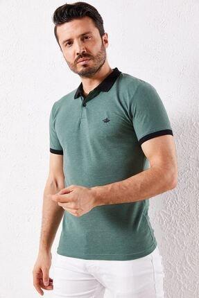 Zafoni Erkek Yeşil T-shirt