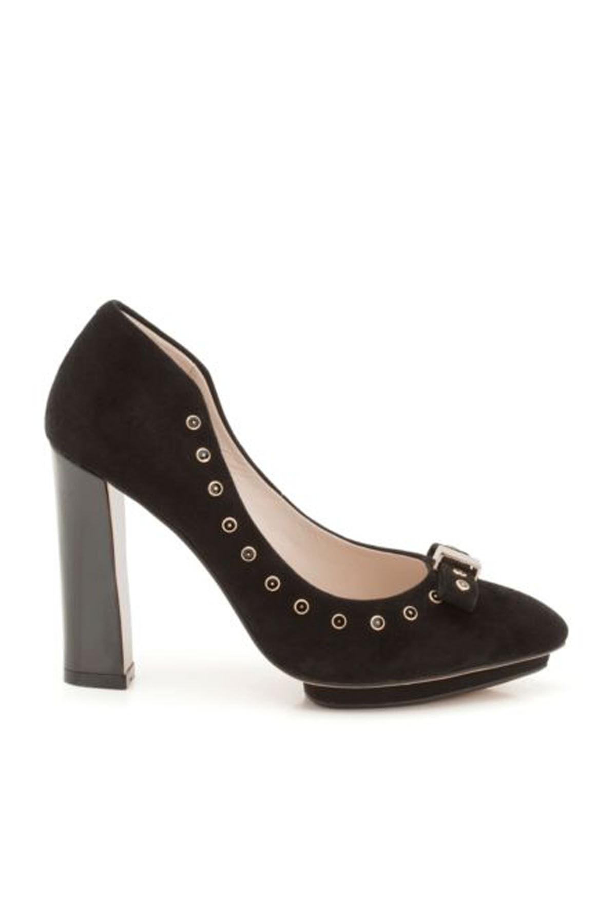 CLARKS Kadın Siyah Topuklu  Ayakkabı 2