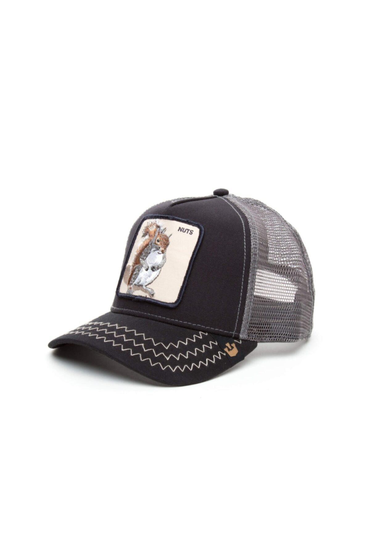Goorin Bros Unisex Lacivert Squirrel Master Standart Şapka 101-5152 1
