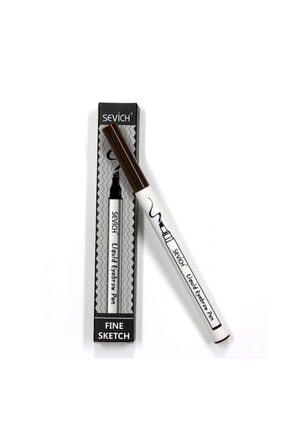 Sevich Kalıcı Kaş Kalemi - Kalıcı Makyaj - Suya Dayanıklı Microblading -kaş Rimeli-dövmesi - Sevıch Orjinal