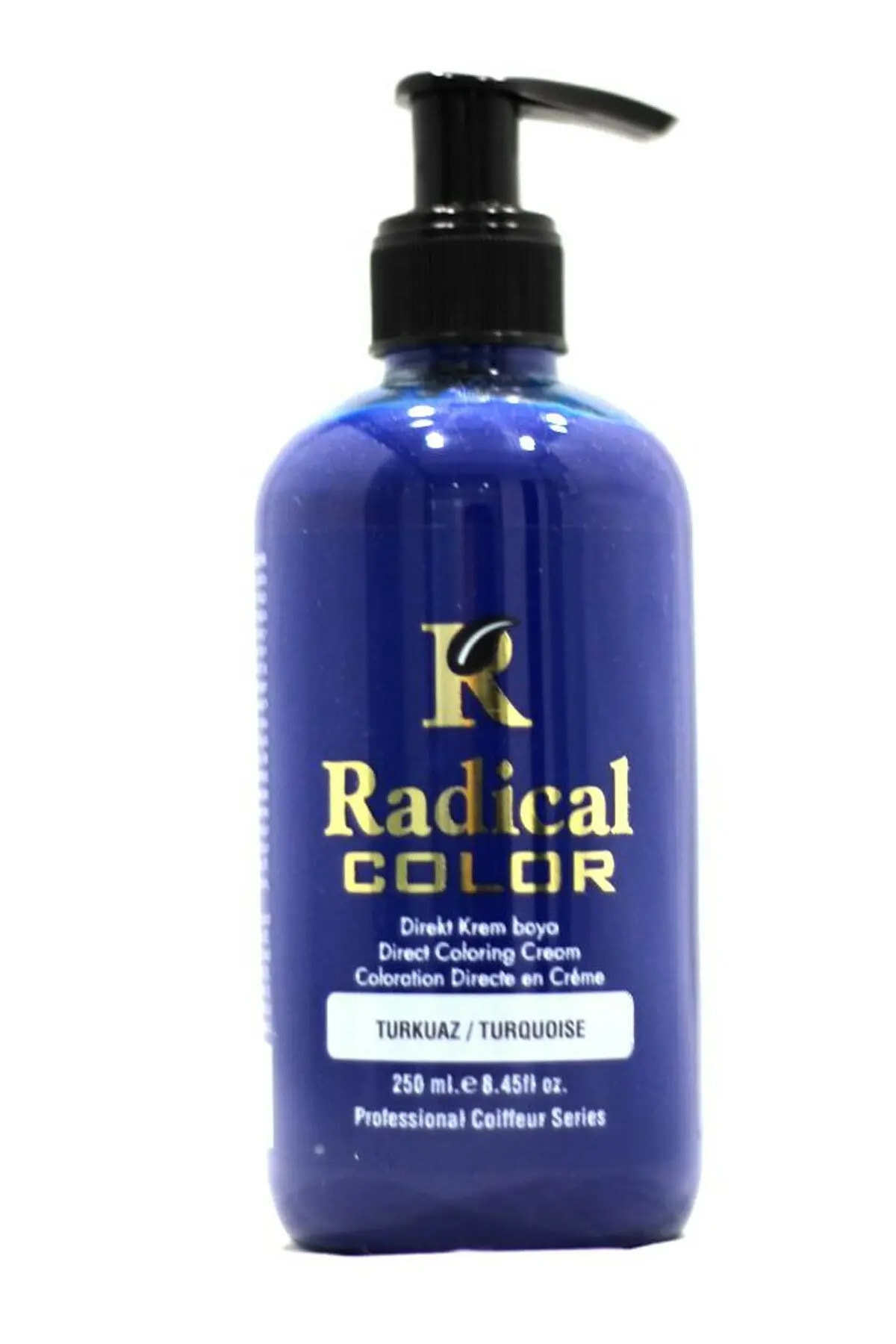 Radical Color Su Bazlı Saç Boyası 250 Ml Turkuaz 1