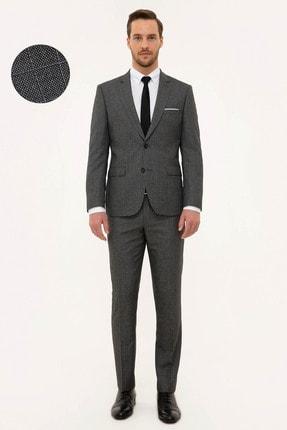 Pierre Cardin Erkek Füme Slim Fit Takım Elbise G021GL001.000.1156503