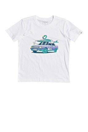 Quiksilver Çocuk Beyaz Rdigtaltimss T-shirt Eqkzt03374-wbb0