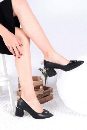 Buffalo Kadın Siyah Vivian Topuklu Ayakkabı
