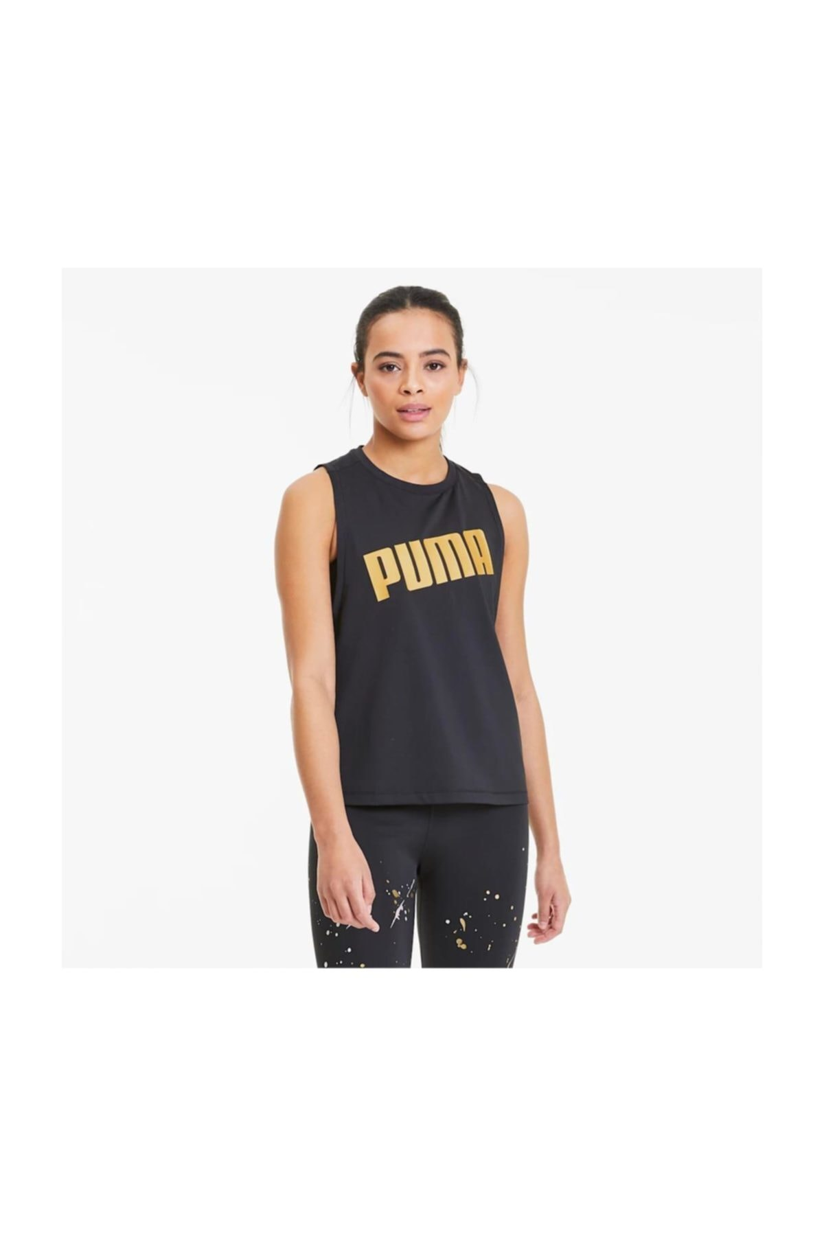 Puma Kadın Atlet - Metal Splash Adjustable Tank - 51919801 1