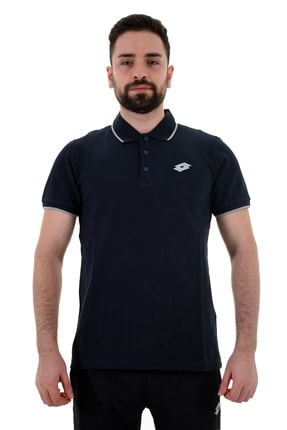 Lotto Polo Yaka T-shirt Erkek Lacivert/gri-josh Polo Pq-r8426