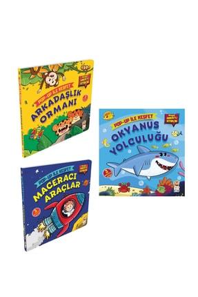 Sincap Kitap Pop-up Ile Keşfet Seti - Arkadaşlık Ormanı / Maceracı Araçlar / Okyanus Yolculuğu