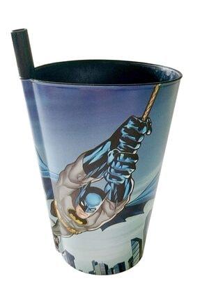 KaktüsKedi Pipetli Batman Lisanlı Çocuk Bardağı 713499