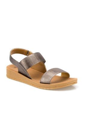 Polaris 161095.Z Füme Kadın Sandalet 100509209