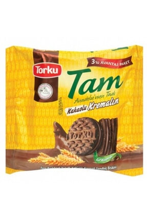 Torku Tam Kakaolu Kremalı Bisküvi Multipack 3'lü