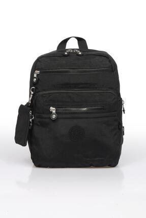 SMART BAGS Smb1207-0001 Siyah Kadın Sırt Çantası