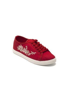 Prive Kadın Kırmızı Günlük Ayakkabı