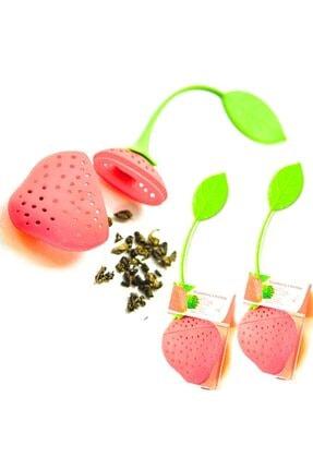 Leva House Levahouse 3 Adet Silikon Meyve Çiçek Şekil Çay Bitki Çayı Süzeceği