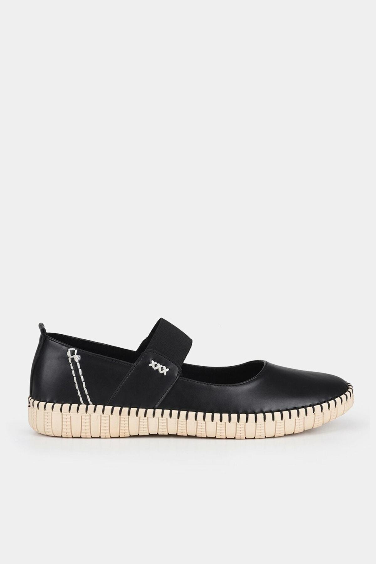 Hotiç Siyah Kadın Ayakkabı 1