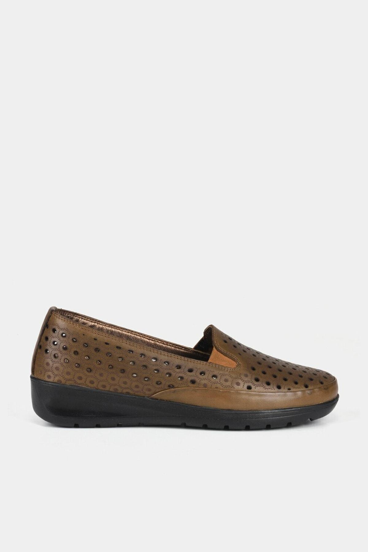 Hotiç Bej Kadın Ayakkabı